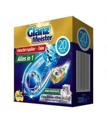 GlanzMeister Alles in 1 tabletki do zmywarki 20szt.