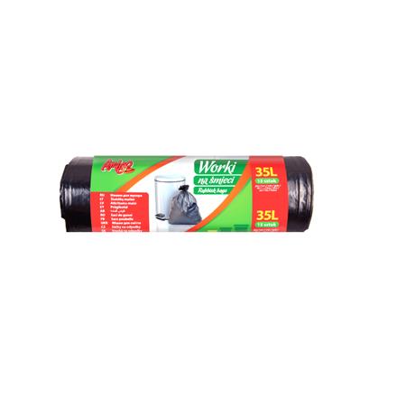 AMIGO Worki na śmieci LDPE 35L 15szt.