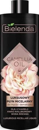 Bielenda Camellia Oil Płyn micelarny demakijaż twarzy 500ml