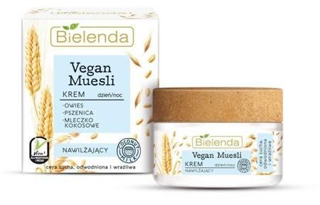 Bielenda Vegan Muesli Krem nawilżający dzień/noc 50ml