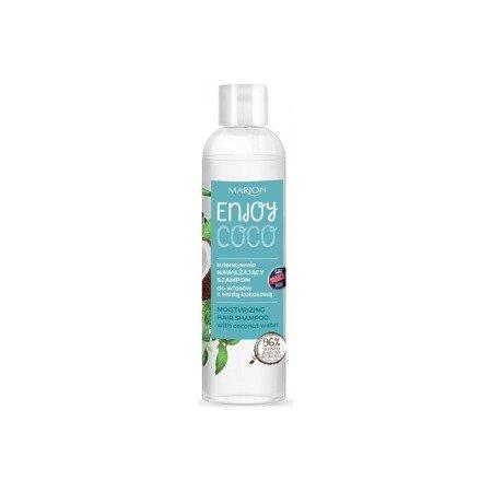 Marion Intensywnie nawilżający szampon do włosów z wodą kokosową