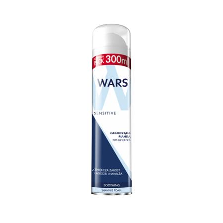 Wars Pianka do golenia Sensitive 300ml
